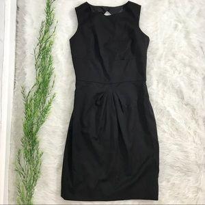 Brooks Brothers Loro Piana Sheath Dress Wool Black